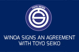 Winoa signs an agreement with Toyo Seiko